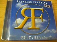 RAINHARD FENDRICH LIVE SCHWERELOS CD MINT---