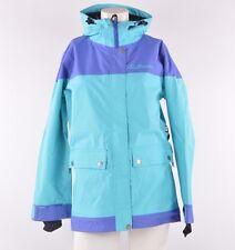 2013 NWT WOMENS AIRBLASTER FREEDOM SNOWBOARD JACKET $190 XS turquoise *