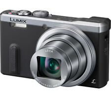 SILVER PANASONIC LUMIX DMC-TZ60EB-S Super Zoom Compact Camera 18.1MP  EX-DISPLAY