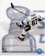 SIDNEY CROSBY Unsign 8x10 Photo Pittsburgh Penguins