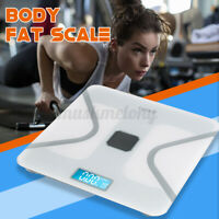 Wireless Body Fat Scales Weight BMI Analyzer Machine for Android Bathroom Home