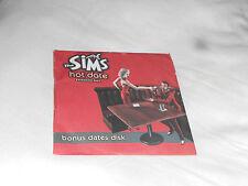 Bonus citas disk for the Sims Hot date Expansión Pack (PC)