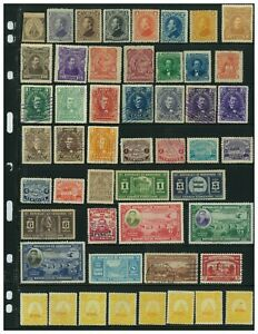 Honduras 1865-1937 Classic Collection of 77 Stamps, Scott Value = $63.20