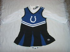 NFL Indianapolis Colts Cheerleader Dress Sz 18M EUC