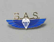 S.A.S. SPECIAL AIR SERVICE BRITISH PARATROOPER PIN BADGE 2 INCHES