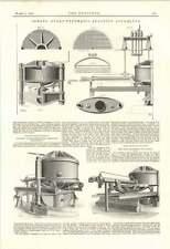 1895 Lift accident à Lloyds Dennes hydro pneumatique micronique
