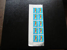SUISSE - timbre - yvert et tellier n° 1462 x10 obl (Z3) stamp switzerland