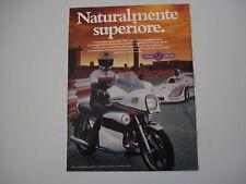 advertising Pubblicità 1979 MOTO YAMAHA 1.1 1100 MARTINI