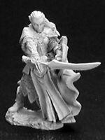 1 x MORYN STORMBLADE - DARK HEAVEN LEGENDS REAPER miniature jdr rpg elf 02849