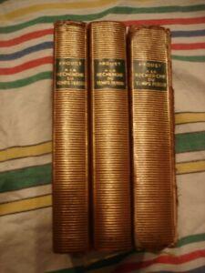 Marcel PROUST A la recherche du temps perdu T. 1 à 3 pléiade 1954 eo ex libris