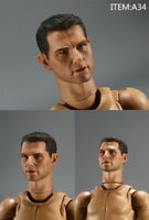 In-Stock 1/6 Scale Male head Sculpt For Tom Cruise For 12'' Figure HW/Neck