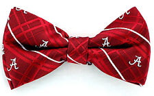 Alabama Crimson Tide Oxford Mens Bow Tie Adjustable Neck College Red Bowtie New