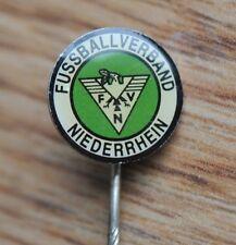 Lower Rhine Football Association Vintage German Germany Soccer Pin Badge
