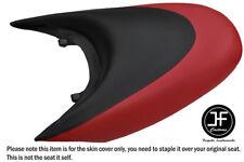 BLACK & DARK RED CUSTOM FOR SEADOO 02-06 GTX DI 4-TEC REAR VINYL SEAT COVER