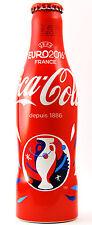 Coca Cola Flasche Bottle Botella Alu EM UEFA EURO 2016 Fußball