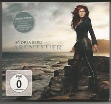 """ANDREA BERG """"Abenteuer"""" Deluxe Edition CD 2011 & Bonus DVD """"Heimspiel"""""""