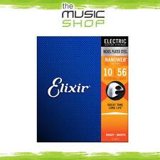 3 Sets of Elixir Nanoweb 10-56 7 String Electric Guitar Strings - 12057