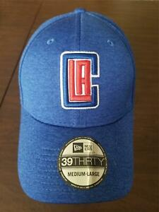 New Era Cap Los Angeles Clippers 39Thirty medium - large blue & white hat NEW