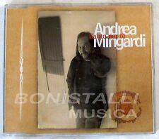 ANDREA MINGARDI - CANTO PER TE - CD Single  Nuovo Unplayed