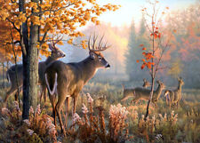 Autumn Forest Deer Flock 500 Pcs Jigsaw Puzzle Adult Kid Educational Toys Gift