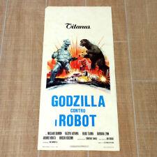 GODZILLA CONTRO I ROBOT locandina poster affiche Gojira tai Mekagojira AQ6