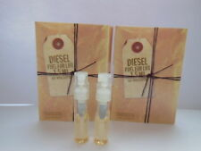 2 X DIESEL FUEL FOR LIFE POUR FEMME EDP 1.5ml - 3ml in totale