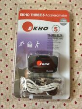 Ekho Three .5 Accelerometer 7 Day Memory Step Distance Counter Calories Speed