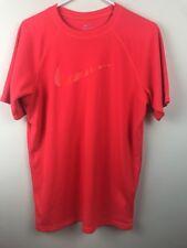 Nike Dri Fit Men's Running Athletic Football Shirt Size Medium M EUC