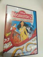 DVD  Pocahontas 2 viaje a un mundo nuevo