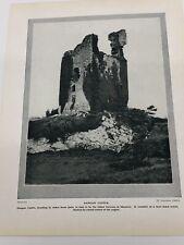 1924 Original Photo Dangan Castle, The Amphitheatre, Kilkee Vintage Pictures