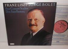 DSLO 41 Liszt  Five Concert Studies Don Juan Fantasy Jorge Bolet