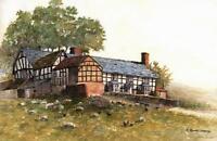 ROBERT STANDISH-SWEENEY Watercolour Painting TUPSLEY COURT LANDSCAPE