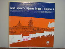 herb alpert's tijuana brass *volume 2, 1963 vintage  LP RECORD, SP-103 A&M