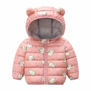 Dinosaur Print Outerwear Coats Jacket Children Clothes Kids Hooded Boys Toddlers