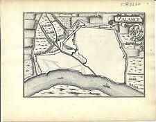 Antica mappa, Valance