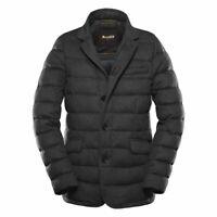 Moorer Zayn-L1 Boudin Quilted Cashmere Down Jacket Med 42US 52IT Antracite $1625