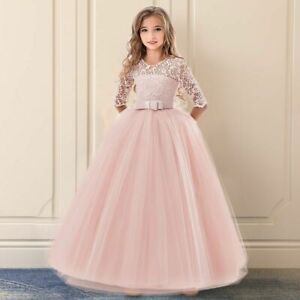 Girl Dress For Wedding Gown Exquisite Communion Luxury Princess New Year Costume