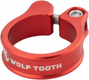 Wolf Tooth Components Seatpost Clamp 31.8mm Red