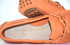 Cole Haan Womens Moccasins Loafers Suede Nubuck Shoes Nike Air Driving Moc 7.5