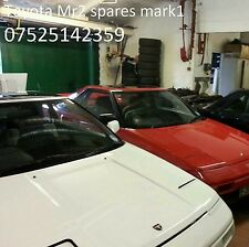 MR2 MK1 TOYOTA breaking spare parts worldwide shipping  aw11 4A-GE