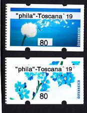 """23.8.2019, postfr. **, AWZ,ATM, 80 C- Paar,""""phila - Toscana 19"""";"""