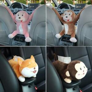 Cute Convenient Animal Tissue Box Cartoon Creatives Animal Tissue Box Holders