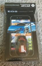 AR Racing Real Mini Toy Car Game -iOS Android w/ Mobile Holder & USB Cable NEW