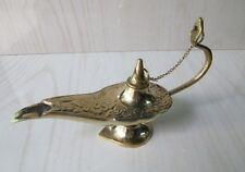 Solid Brass Aladdin Genie Oil Lamp Aladin Home Decor Item Gift Item