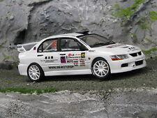 QSP Mitsubishi Lancer Evo lX 1:24 #45 vd Linde / Molenkamp Almere Rallysprint 08