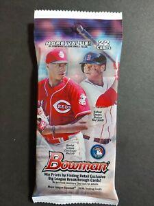 2018 Bowman Baseball Factory Sealed JUMBO FAT PACKS-22 Cards! Ohtani RC? sealed