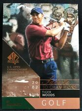 Tiger Woods 2003 UD SP Authentic Golf Salute to Champions /2002
