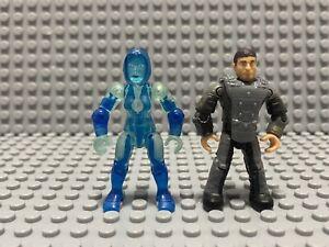 Mega Bloks Construx Halo UNSC Infinity FVK37 Cortana & Chief Captain Lasky Seal
