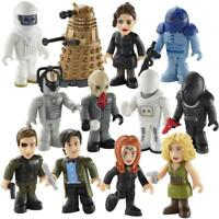 DOCTOR WHO SERIES 3 MICRO FIGURES MINI FIGURES  : CHOOSE BY CHARACTER BUILDING