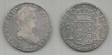 PERU' - Ferdinando VII - 8 Reales 1821 LIMAE JP argento